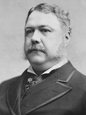 President Chester A. Arthur removed Tyner from office on October 17, 1881 after Tyner had refused to resign.