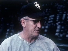 Al López, manager of the Go-Go White Sox