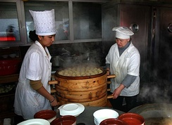 Kazakh food preparation began to develop in the 13th century