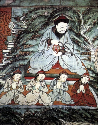 Altan Khan as icon of Buddhism.
