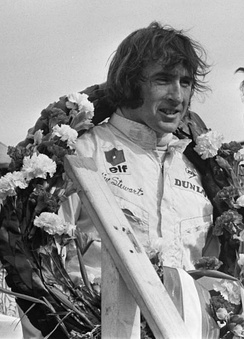 Briton Jackie Stewart won his 1st of 3 championships, driving a Matra-Ford for Ken Tyrrell