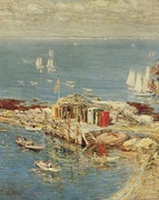 Childe Hassam, August Afternoon, Appledore, 1900