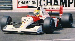 Senna won seven Grands Prix in 1991 en route to his third and final title.