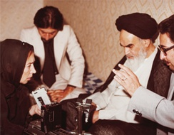 "Khomeini told questioners that ""the religious dignitaries do not want to rule.""[184]"