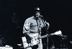"Bo Diddley's ""Bo Diddley beat"" is a clave-based motif."