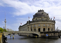 The Museum Island in Berlin.