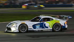 The Riley Motorsports Dodge SRT Viper GT3-R being driven by Al Carter, Cameron Lawrence, Dominik Farnbacher and Kuno Wittmer.