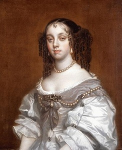 Queen Catherine of Braganza, wife of Charles II of England, credited with introducing the English to tea-drinking, popular with the Portuguese nobility.
