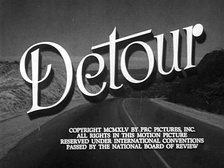 Edgar G. Ulmer's Detour (1945), a film noir about a musician travelling from New York City to Hollywood who sees a nation absorbed by greed.[1]