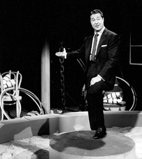 Ameche as the host of International Showtime in 1962
