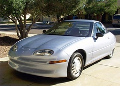 The all-electric General Motors EV1 was introduced in California in 1996.
