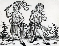 One of the consequences of the Black Death was practiced self-flogging