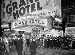 New York City opening of Grand Hotel at the Astor Theatre (April 12, 1932)