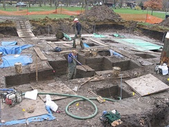 Excavations at the 3800-year-old Edgewater Park Site, Iowa