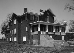 The Isaiah Thornton Montgomery House is one of three sites in Mound Bayou listed on the National Register of Historic Places.