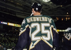 Joe Nieuwendyk helped the Stars win their first Stanley Cup in 1999. Nieuwendyk was awarded the Conn Smythe Trophy for that year's playoffs.