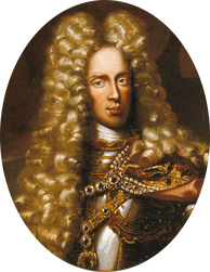 Joseph I as a young ruler in armor