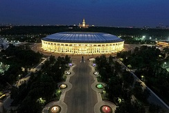 The Luzhniki Stadium hosted the 1980 Summer Olympics and the 2018 FIFA World Cup Final