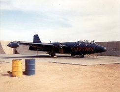 Patricia Lynn RB-57E at Da Nang, January 1964