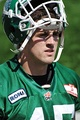 Mike McCullough, Canadian football linebacker for the Roughriders.