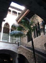 Museu Picasso is located in the gothic palaces of Montcada street in Barcelona
