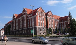 Warmian-Masurian Provincial Assembly building in Olsztyn