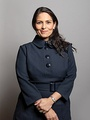 Priti Patel, the Secretary of State for the Home Department since 2019