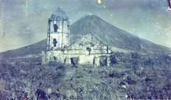 February 1: Cagsawa Church is destroyed by eruption of Mount Mayon.