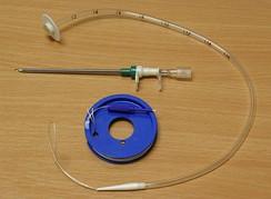 Набор для проведения чрескожной эндоскопической гастростомии по pull-методу