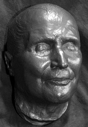Pius IX's death mask