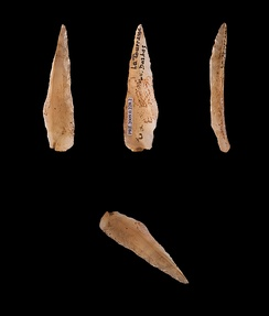 Azilian points, microliths from epipaleolithic northern Spain and southern France.