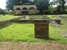 Ruins of Juan Ponce de León's residence at Caparra
