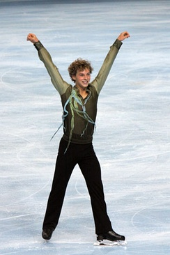 Rippon at the 2009 Trophée Éric Bompard