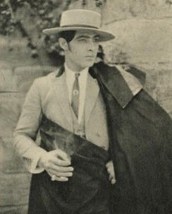 Valentino as Juan Gallardo in Blood and Sand (1922)