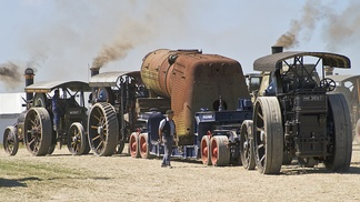 Steam traction heavy haulage