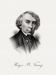 Bureau of Engraving and Printing portrait of Taney as Secretary of the Treasury