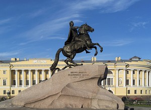 The Bronze Horseman (St. Petersburg, Russia).jpg