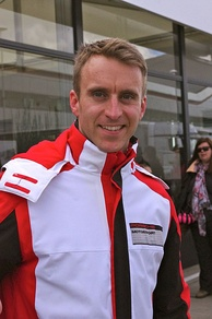 Timo Bernhard (pictured in 2014) clinched Porsche's first pole position of the season.