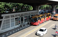 TransJakarta has the world's longest bus rapid transit routes.