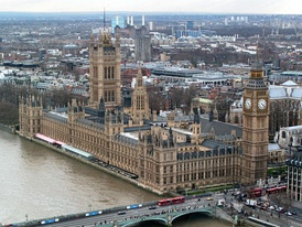 The Palace of Westminster, designed by Charles Barry & Augustus Pugin