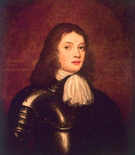 William Penn, the founder of Pennsylvania and West Jersey, as a young man