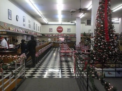 Woolworth's Diner in Bakersfield
