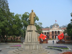 Wuchang Uprising Memorial, the original site of revolutionary government in 1911