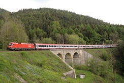 InterCity (IC) on the Semmering railway