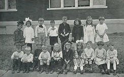 1921 kindergarten class at the East Texas State Normal College Training School