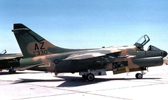 195th TFS A-7D 71-330, about 1985