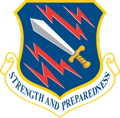 21st Space Wing shield
