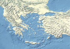 Themistocles is located in the Aegean Sea area