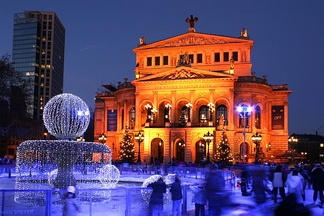 Alte Oper, now a concert hall, at Opernplatz