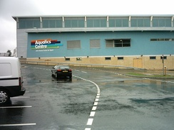 The Aquatics Centre at the John Charles Centre for Sport